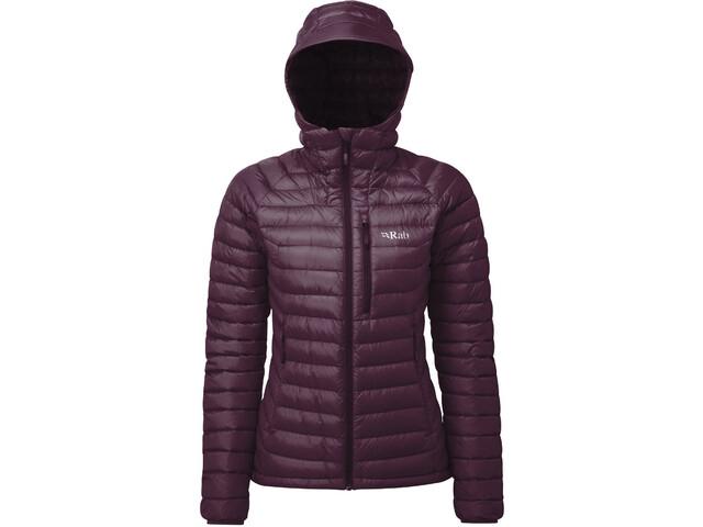 Rab Microlight Alpine Jacket Damen eggplant/rococco